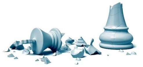 Broken Pieces - Chess Player Fragments